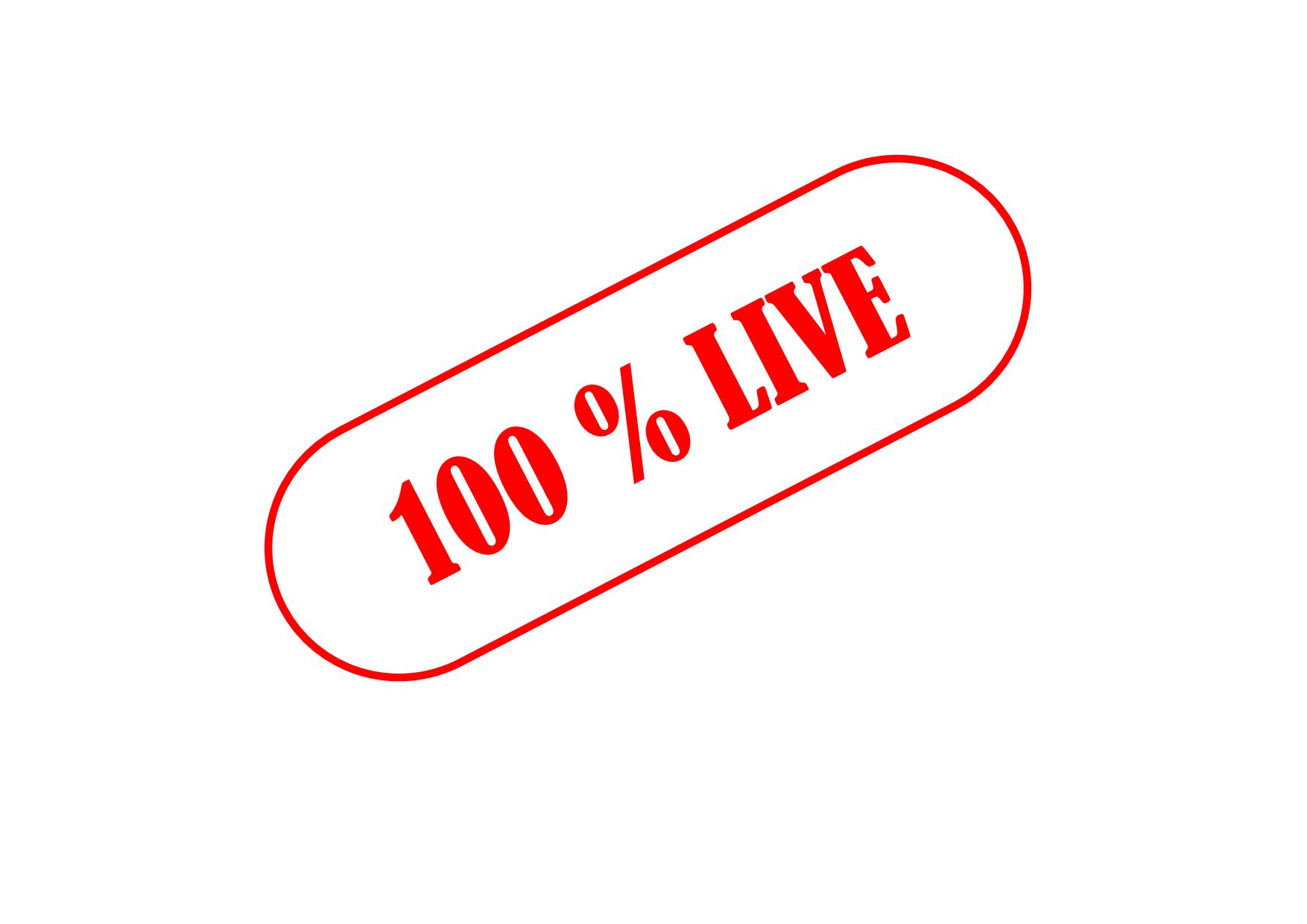 100 live transparent