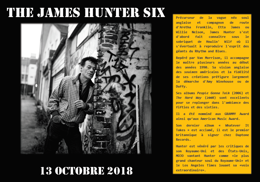 Presentation concert james hunter